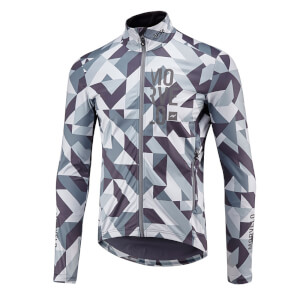 Morvelo Winter Attack FU-SE SoftShell Jacket - Grey/White