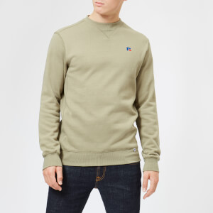 Russell Athletic Men's Frank Sweatshirt - Dry Grass