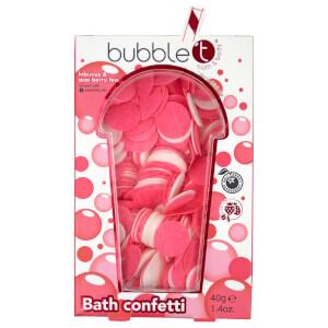 Bubble T Bath Confetti Hibiscus & Acai Berry Tea 40g