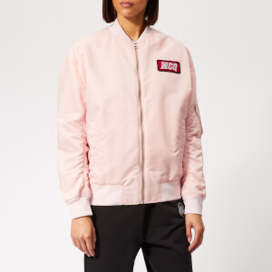 McQ Alexander McQueen Women's MA1 Jacket - Soft Pink