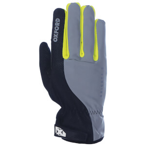 Oxford Bright Gloves 3.0 - Black/Reflective