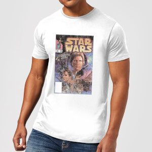 T-Shirt Star Wars Classic Comic Book Cover - Bianco - Uomo