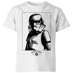 Star Wars Imperial Troops Kids' T-Shirt - White