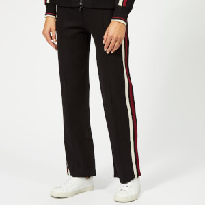 Isabel Marant Étoile Women's Dobbs Trousers - Black/Burgundy