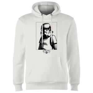 Felpa con cappuccio Star Wars Imperial Troops- Bianco
