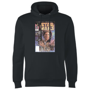 Star Wars Classic Classic Comic Book Cover Hoodie - Schwarz