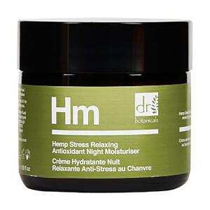 Dr Botanicals Hemp Stress Relaxing Antioxidant Night Moisturiser 50ml