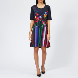 PS Paul Smith Women's Pauls Photo T-Shirt Dress - Multi