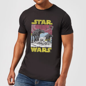 Camiseta Star Wars AT-AT - Hombre - Negro