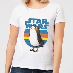 T-Shirt Star Wars Porg - Bianco - Donna