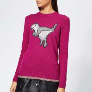 Coach 1941 Women's Pixel Rexy Sweater - Magenta