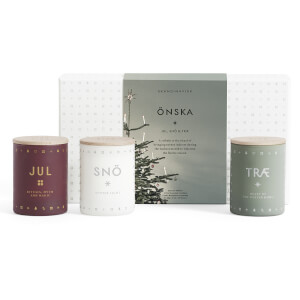 SKANDINAVISK Christmas Collection Scented Mini Candle Gift Set - Onska