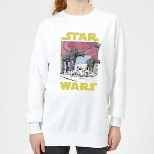 Star Wars ATAT Damestrui - Wit
