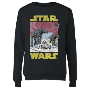 Star Wars ATAT Women's Sweatshirt - Black