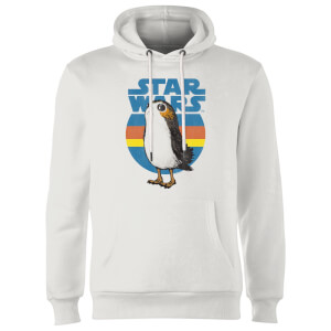 Sweat à Capuche Homme Porg Star Wars - Blanc
