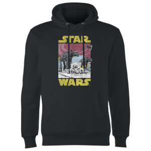 Sweat à Capuche Homme ATAT Star Wars - Noir