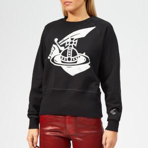 Vivienne Westwood Anglomania Women's Athletic Sweatshirt - Black