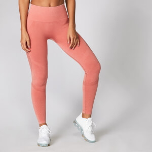 Acid Wash Leggings - Kupferrosé
