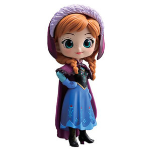 Banpresto Q Posket Disney Frozen Anna Figure 14cm (Normal Colour Version)