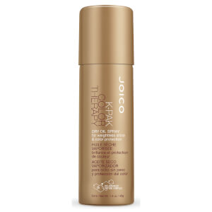 Joico K-Pak Color Therapy Dry Oil Spray For Weightless Shine And Color Protection 50ml (Free Gift)