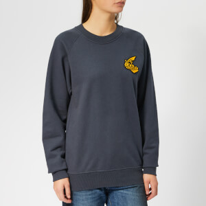 Vivienne Westwood Anglomania Women's Classic Logo Sweatshirt - Anthracite