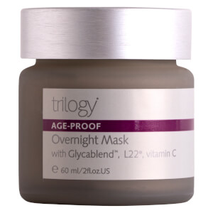 Máscara de Noite Age-Proof da Trilogy 60 ml