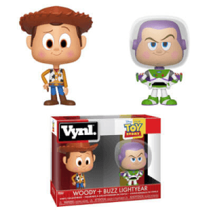 Disney Woody & Buzz Funko Vynl.