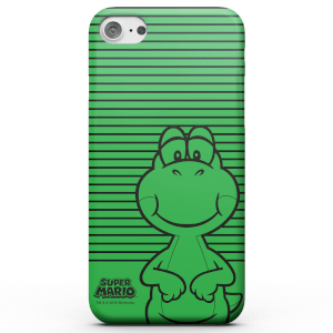 Nintendo Super Mario Yoshi Retro Colour Line Art Phone Case for iPhone and Android