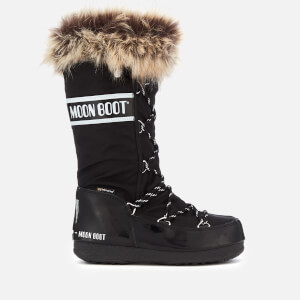 Moon Boot Women's Monaco Waterproof Boots - Black