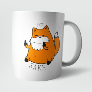 """For Fox Sake"" Tasse"