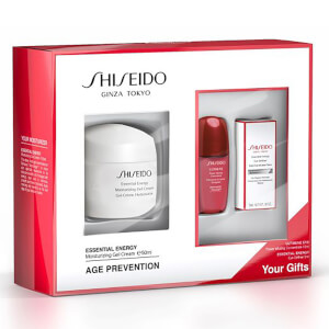 Shiseido Essential Energy Moisturizing Gel Cream Set (Worth £97)
