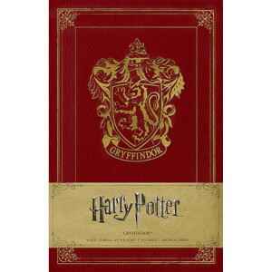 Gryffindor Crest Hardcover Ruled Journal