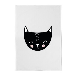Cat Cotton Tea Towel