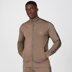 Icon Zip-Up Jacke - Driftwood