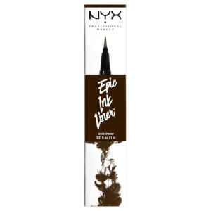 Delineador de ojos Epic Ink de NYX Professional Makeup - Marrón