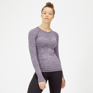 Inspire Seamless Long Sleeve Top - Purple