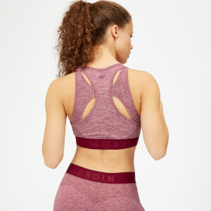 Myprotein Inspire Seamless Sports Bra - Dusty Rose