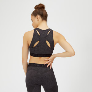Inspire Seamless Sports Bra - Slate