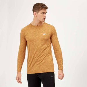 Myprotein Performance Long Sleeve T-Shirt - Amber Marl