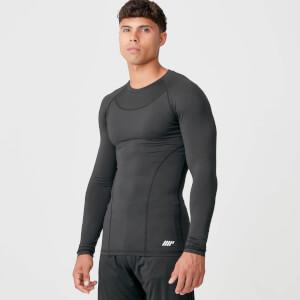Myprotein Charge Compression Long Sleeve Top - Black