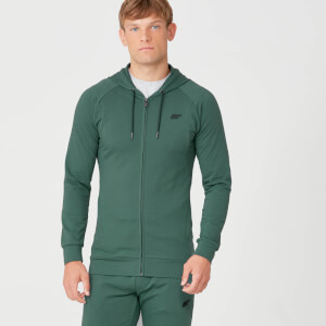 MP Form Zip Up Hoodie - Pine