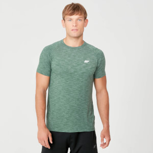 Performance T-Shirt - Dark Green Marl