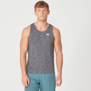 Myprotein Performance Tank Top - Black Marl