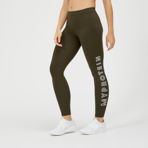 Myprotein The Original Legging - Dark Khaki