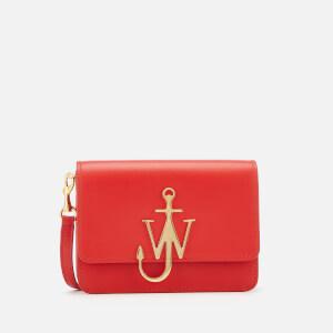 JW Anderson Women's Mini Logo Purse - Scarlet