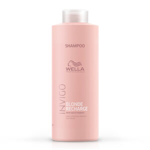 Wella Professionals Care INVIGO Blonde Recharge Color Refreshing Shampoo - Cool Blonde 1000ml