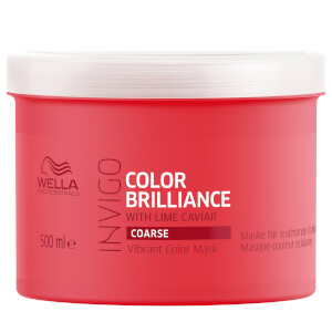 Wella Professionals Invigo Brilliance Vibrant Color Mask 500ml