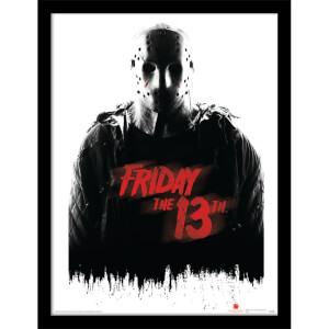 Friday The 13th (Jason Voorhees) Framed 30 x 40cm Print