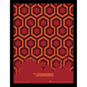 The Shining (Carpet) Framed 30 x 40cm Print