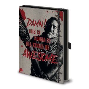 The Walking Dead (Negane & Lucile) A5 Premium Notebook